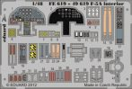 F-5A interior S.A. - 1/48 - Kinetic