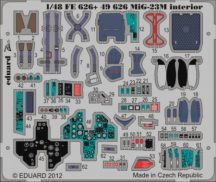MiG-23M interior S.A.- Trumpeter