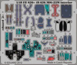 MiG-23M interior S.A.- 1/48 - Trumpeter
