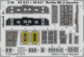 Merlin HC.3 interior S.A.- 1/48 - Airfix