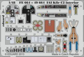 IAI Kfir C2 interior S.A.- 1/48 - AMK