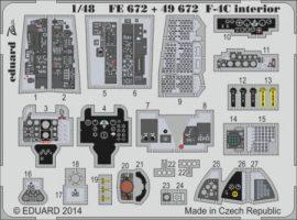 F-4C interior S.A.- 1/48 - Academy