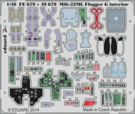 MiG-23ML Flogger G interior S.A.- Trumpeter