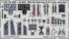 MiG-29 Fulcrum 9-12 early interior S.A.- 1/48 - GWH
