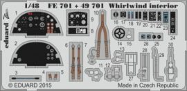 Whirlwind interior S.A .- 1/48 - Trumpeter