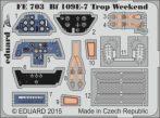 Bf 109E-7 Trop weekend - 1/48 -Eduard