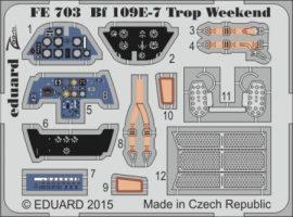 Bf 109E-7 Trop weekend- 1/48 -Eduard