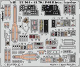 P-61B front interior S.A. - 1/48 - GWH