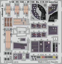 Do 17Z-10 interior - 1/48 - ICM