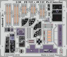Pe-2 interior - 1/48 - Eduard/Zvezda