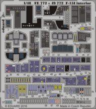 F-15I interior - 1/48 - GWH