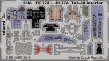 YAK-38 interior - Hobbyboss