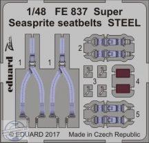 Super Seasprite seatbelts STEEL 1/48