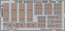 Seatbelts France WWII STEEL 1/48