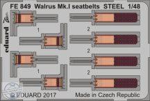 Walrus Mk.I seatbelts STEEL  1/48