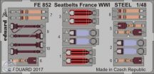 Seatbelts France WWI STEEL 1/48