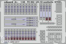 UH-1D seatbelts STEEL 1/48- Kitty Hawk
