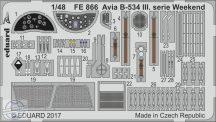 Avia B-534 III.serie Weekend  1/48 - Eduard
