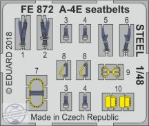 A-4E  seatbelts STEEL 1/48