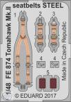 Tomahawk Mk.II seatbelts STEEL 1/48