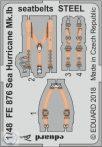 Sea Hurricane Mk.Ib seatbelts STEEL 1/48