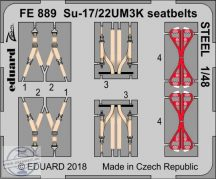 Su-17/22UM3K seatbelts STEEL - Kitty Hawk
