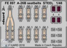 A-26B seatbelts STEEL - Revell