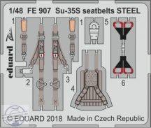 Su-35S seatbelts STEEL 1/48 - Great Wall Hobby