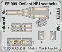Defiant NF. I seatbelts STEEL 1/48 - Airfix