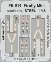 Firefly Mk. I seatbelts STEEL 1/48 - Trumpeter