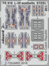 L-39 seatbelts STEEL 1/48 - Eduard, Special Hobby