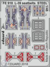 L-39 seatbelts STEEL 1/48 - Eduard, Special Hobby