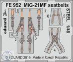 MiG-21MF seatbelts STEEL 1/48 - Eduard