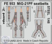 MiG-21PF seatbelts STEEL 1/48 - Eduard