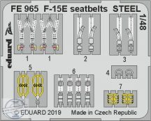 F-15E seatbelts STEEL 1/48 -  Great Wall Hobby