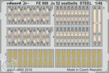Ju 52 seatbelts steel - 1/48