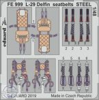 L-29 Delfin seatbelts STEEL 1/48