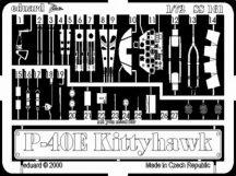 P-40E - Academy