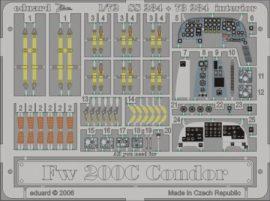 Fw 200C Condor interior  - 1/72 - Revell
