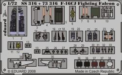 F-16CJ S. A.  - 1/72 - Academy