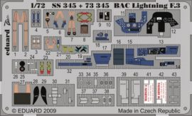 BAC Lightning F.3 S. A.  - 1/72 - Trumpeter