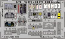 F-22 interior S. A.  - Fujimi