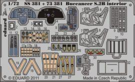 Buccaneer S.2B interior S. A. - Airfix