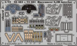 Buccaneer S.2B interior S. A. - 1/72 - Airfix