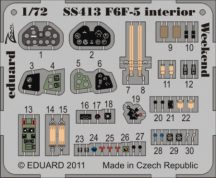 F6F-5 interior S. A. Weekend - Eduard
