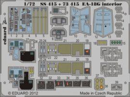 EA-18G interior S. A. - 1/72 - Hasegawa