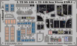 Sea Vixen FAW.1 interior S. A. - 1/72 - Cyber hobby