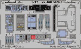 Sea King AEW.2 interior S. A.  - 1/72 - Cyber hobby
