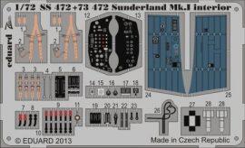 Sunderland Mk. I interior S. A. - 1/72 -  Italeri
