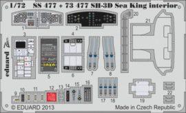 SH-3D Sea King interior S. A. -  1/72 - Cyber hobby
